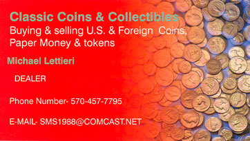 Classic Coins & Collectables