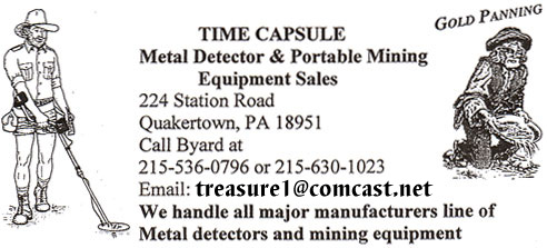 Time Capsule Metal Detector & Portable Mining